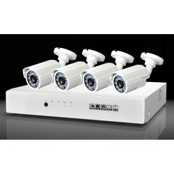 KIT 4 Camere digitale AHD-720P+DVR