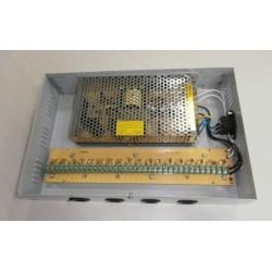Sursa de alimentare 18 Camere CCTV in cabinet metalic full protection