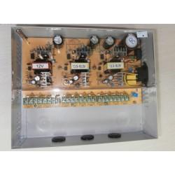 CCTV Power-box alimentare 12 camere 15A 12Vdc