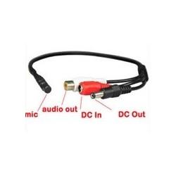 Microfon extern pentru camera de supraveghere video