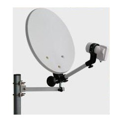 Set Antena satelit camping 38cm