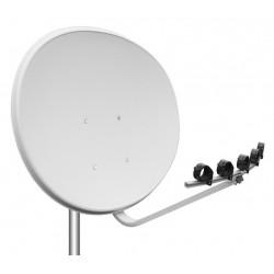 Antena satelit offset multifocar