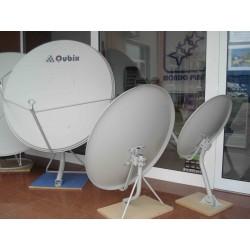 Dish satelit offset 1.0mt cu picior