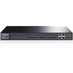 Switch JetStream 12-port slot-SFP gigabit L2 cu management