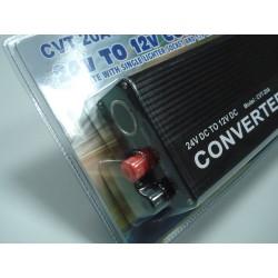 Convertor de tensiune 24V - 12V 20A