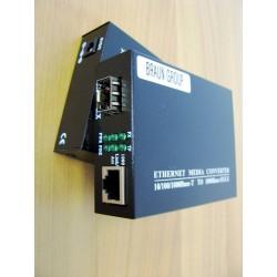 Media Convertor Gigabit SFP & RJ45 -1000-100-10