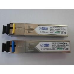 Minigbic SFP WDM 1.25G -3km 1310TX