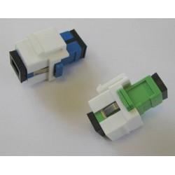 Keystone jack adaptor SC SM simplex