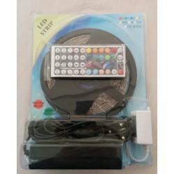 KIT Banda Leduri RGB 5m cu 300 LED-uri 5050 IP-20