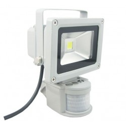 led flood light 10W + senzor 3D