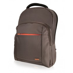 Rucsac Laptop-Notebook Oxford Style 156&quot maro-portocaliu