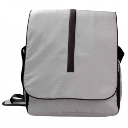 Geanta UrbanLife Bag pt MacBook & Netbook 131&quot gri+(negru)