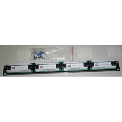 24 port patch panel 19&quot UTP Cat 5e