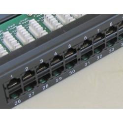 Patch Panel ISDN 50 porturiRJ45 1U sertizare Krone