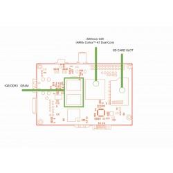 Kit Banana Pi  + casing + cablu _ 1.4