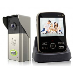 Videointerfon wireless color