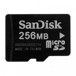 Card memorie Micro SD 256Mb