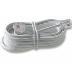 Cablu plat telefon, 3.0m