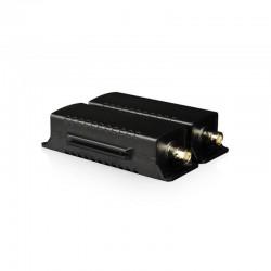 EOC Ethernet extender-Ethernet Over Coax transmiter+receiver