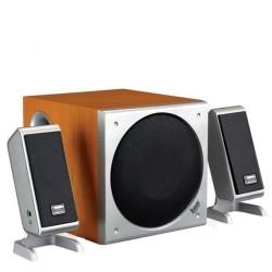 Boxe audio gamer subwoofer lemn 45W