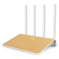 Router Netis gigabit 360R dualband AC1200, 4 porturi LAN gigabit, USB (4G/FTPserver), ipv6, AP, Repeater, AP+WDS, WDS