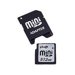Card memorie Mini SD 512Mb
