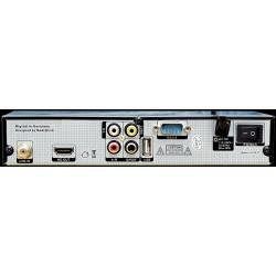 Receptor DVBs-2 PVR + IPTV & VOD Multimedia