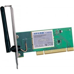 Adaptor wireless PCI 54Mbps