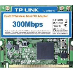 Adaptor wireless N mini PCI 300Mbps