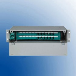 Patch panel optic ODF 2U