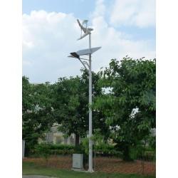 Offline Authonom hybrid street light- Eolian +Solar