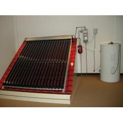 Sistem incalzire apa calda cu panouri solare presurizate