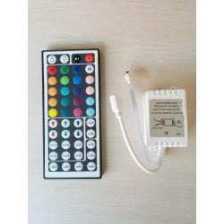 Controller + Telecomanda pentru benzi cu LED-uri RGB