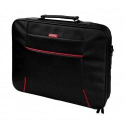 Geanta laptop-notebook 156&quot negru-rosu
