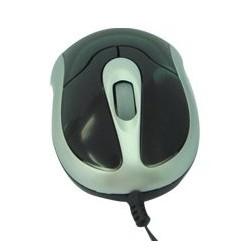 Mouse USB Mini cu cablu retractabil
