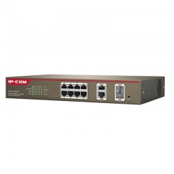 IPCOM-PoE Switch 8-Port 100M+2-Port Gigabit TP/SFP