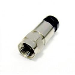 Mufe F COMPRESIE cu garnitura cauciuc pt.cablu RG6