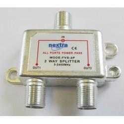 Spliter cu telealimentare pentru satelit
